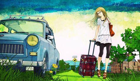 beautiful anime hd wallpaper scenery   HD Wallpaper