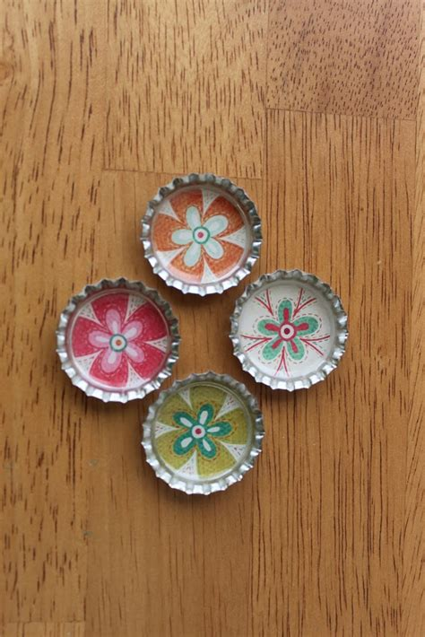 magnets for craft projects bottle cap magnets crafts