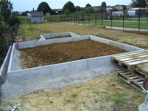 tuinhuis plaatsen op beton bouwdagboek mieke en kristof