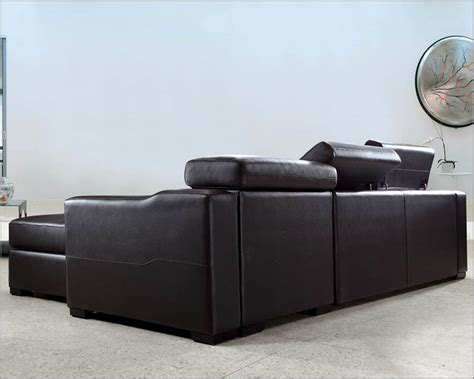 leather sofa bed set reversible leather sectional sofa bed set with storage 44l0647