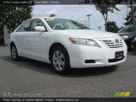 White 2009 Toyota Camry White 2009 Toyota Camry Le Bisque Interior