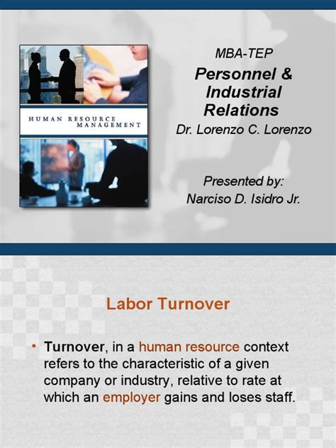 Mba Attrition Rate by Employee Turnover Report