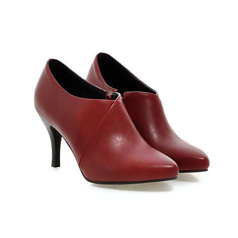 get cheap burgundy high heel shoes aliexpress