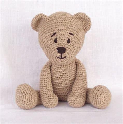 pattern crochet teddy bear free crochet bear pattern teddy bears images
