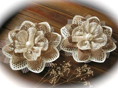 Flowers Lace best 25 lace flowers ideas on fabric flowers