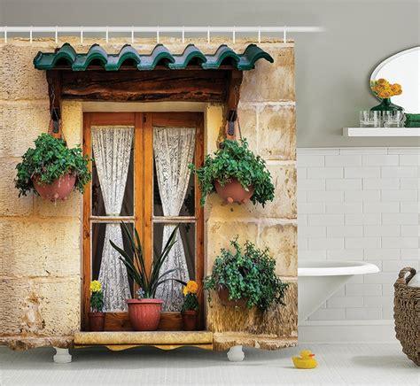 Bonvivo Designer Desk Massimo by Decor Shower Curtain Set