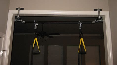 bedroom pull up bar pull up bar in basement today fitness how to make a chin up bar lsfinehomes com