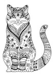 cat coloring pages for adults 25 best cat colors ideas on cat doodle