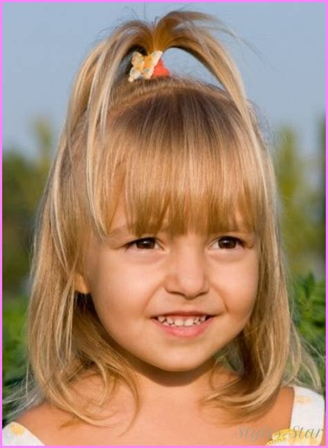kids models hair cuts different haircuts for kids girls stylesstar com