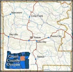 schools in grant county oregon