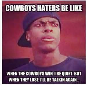 Memes For Haters - dallas cowboys haters quotes quotesgram