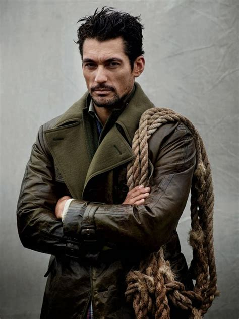 scotland 1760 men hairstyle plaited david gandy in the scottish highlands for man of the world