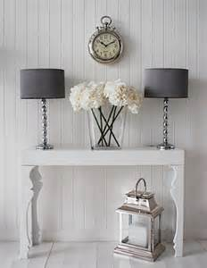 Hallway Table Decor How To Decorate A Living Room With A Modern Console Table
