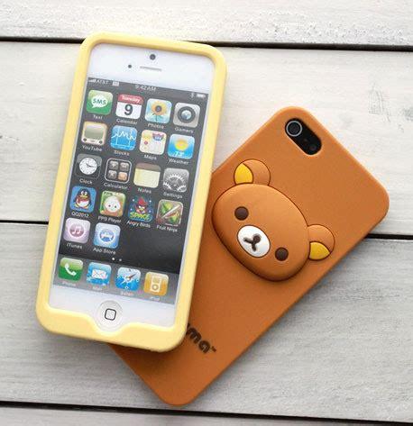 Softcase Iphone5 4 i kawaii soft jelly rilakkuma iphone 5