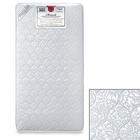 Innerspring Crib Mattress Colgate Monarch Dual Firmness Innerspring Crib Mattress Buybuy Baby