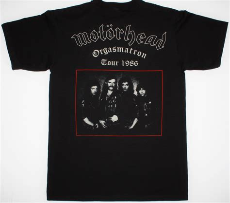 Tshirt Mi Motorhead 2 motorhead iron 1982 new black t shirt best rock t shirts