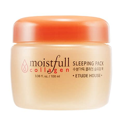 Harga Etude House Moistfull Collagen jual etude house moistfull collagen sleeping pack