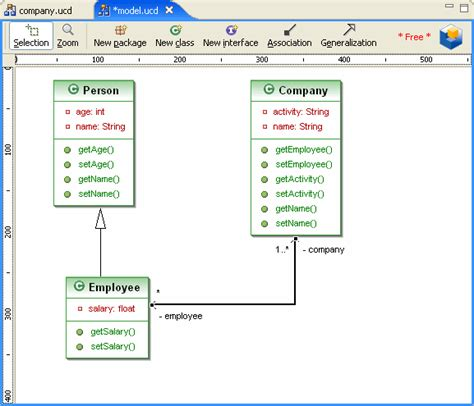 how to create a uml class diagram classdiagramexle