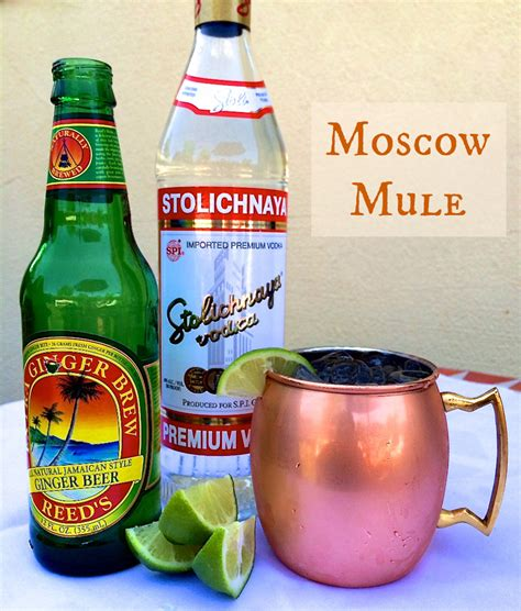 how to make a delicious moscow mule encore events rentals