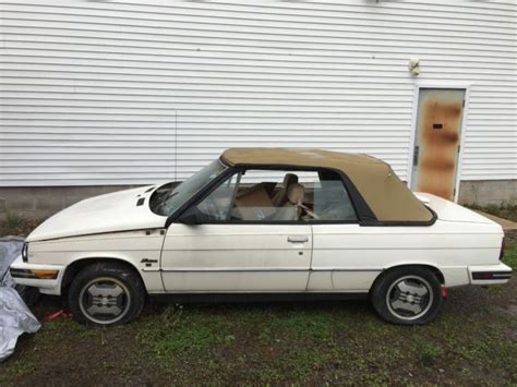 1986 renault alliance 1986 amc renault alliance for sale renault other 1986