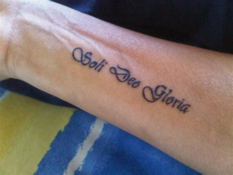 soli deo gloria tattoo i m a with tattoos robyn klaasens from quot catching up