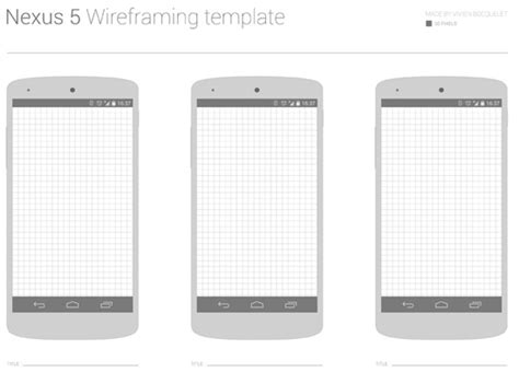 wireframe templates for android quick not dirty 30 free wireframe style uis mockups and