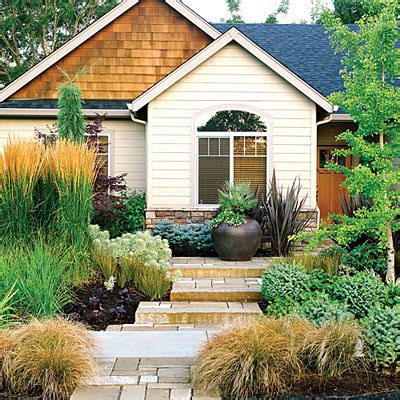 easy care front yard landscaping cy white landscape design 50 landscaping ideas using