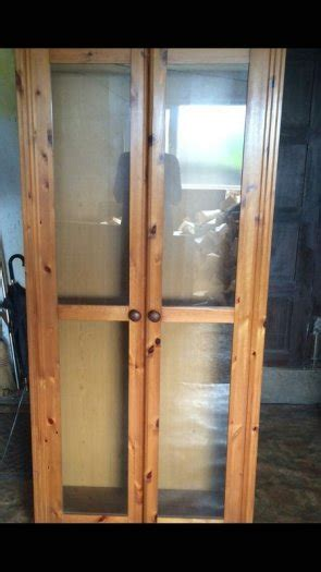 Glass Cabinet Doors For Sale Display Cabinet With Glass Doors And Lighting For Sale In Enniscorthy Wexford From Lococo