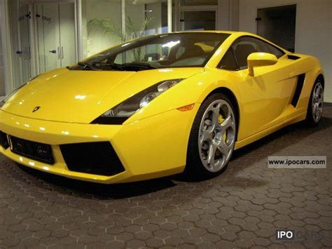 Lamborghini Gallardo Specifications 2004 Lamborghini Gallardo Car Photo And Specs