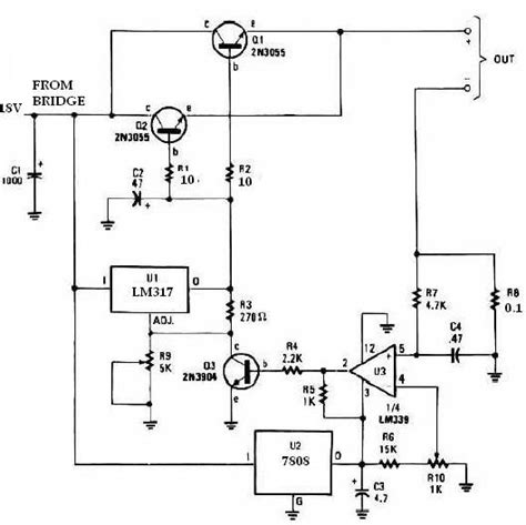 lm317 battery charger circuit diagram lm317 universal battery charger circuit circuit diagram world