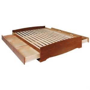 Platform Bed With Storage Bookcase By Furniture Prepac Monterey Bookcase Platform Storage Bed In