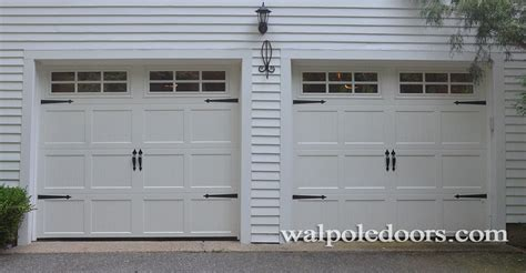 norwood overhead door walpole doors walpole woodworkers