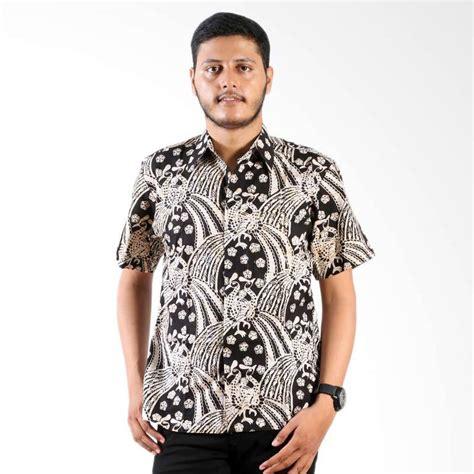 Baju Batik Pria Kemeja Monocrom jual daily deals batik nulaba merak monochrome kemeja