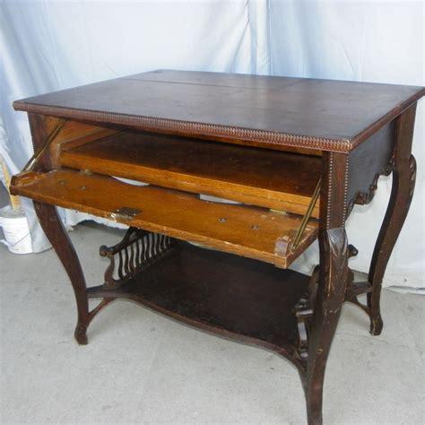 Antique Library Table Desk by Bargain S Antiques 187 Archive Antique Oak Library