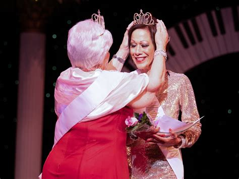 mature irving pageant honors age beauty rambler newspapers