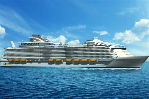 harmony of the seas third oasis ship named harmony of the seas