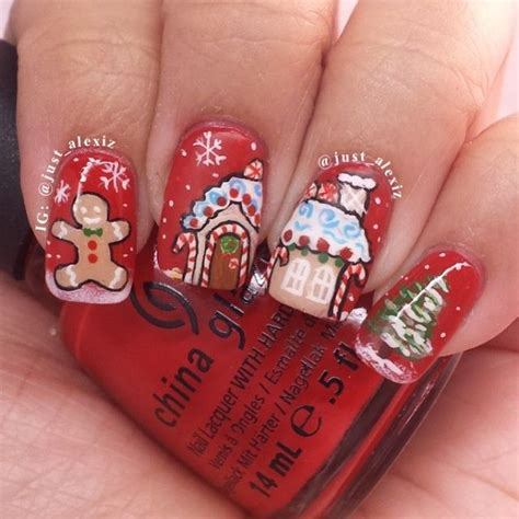 top 25 best xmas nails ideas on pinterest xmas nail art