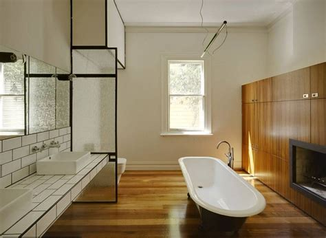 bathroom in the woods 27 interesting ideas and pictures of wooden floor tiles