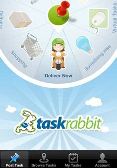 Taskrabbit Background Check Collaborative Consumption On Economy Animal Logo And Comedians