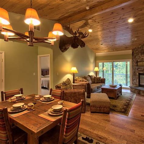 knotty pine ceiling green walls i can skip the moose though future farmhouse