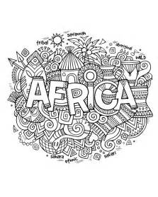 coloring page africa 25 best ideas about abstract coloring pages on