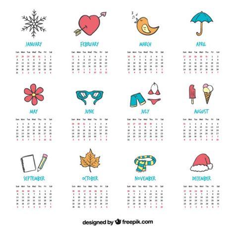 Calendrier 5sos 2016 Bonito Calendario Con Dibujos Pintados A Mano Descargar