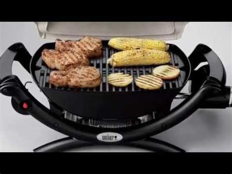 weber q 1000 gas grill reviews youtube