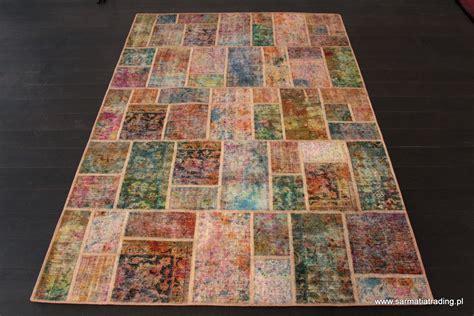 Patchwork Festival - holi festival patchwork dywany orientalne salon z