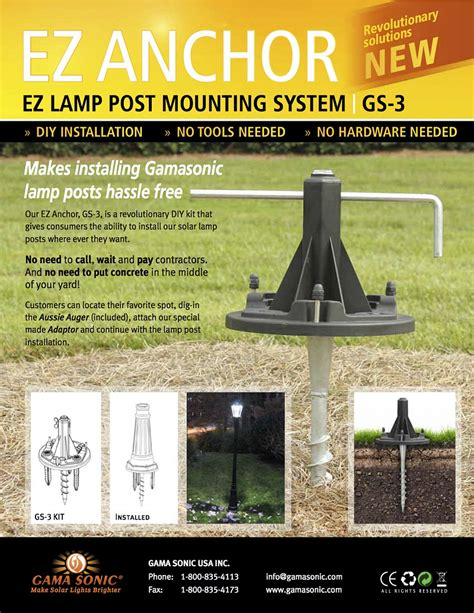 How To Install An Outdoor Light Post New Solar Technology Makes Outdoor Lighting A Cinch Networx