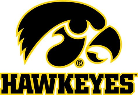 Primitive Home Decor by University Of Iowa Wall Decals Hawkeyes Tigerhawk Decal Set