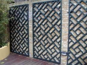 wooden trellis panels painted classic bespoke trellis panels wooden fence