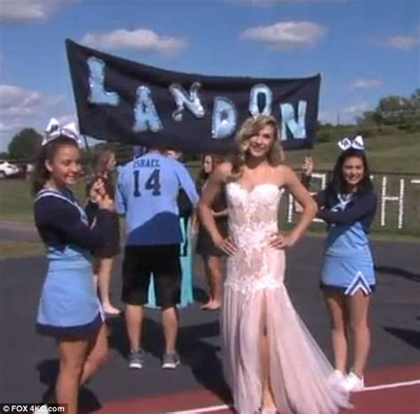 Transgender teen Landon Patterson crowned homecoming queen