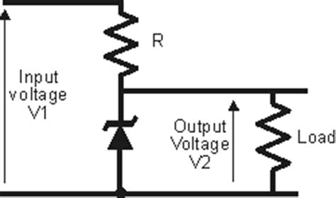 simple zener diode voltage regulator circuit zener diode circuits and applications radio electronics