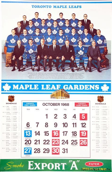 printable nhl schedule 2015 16 leafs nhl schedule theleaf co